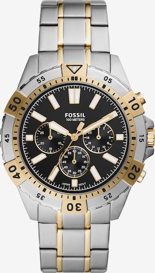 FOSSIL Аналогов часовник 'GARRETT' в злато / черно / сребърно, Преглед на продукта