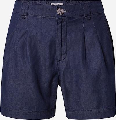 Pantaloni con pieghe Orsay di colore blu scuro, Visualizzazione prodotti