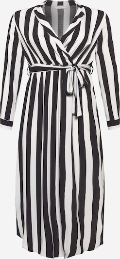Guido Maria Kretschmer Curvy Collection Kleid 'Denise' in schwarz / weiß, Produktansicht