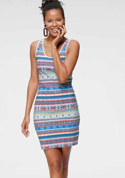 KangaROOS Jerseykleid in mischfarben, Modelansicht
