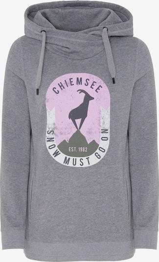 Sportinio tipo megztinis 'ANNAPURNA' iš CHIEMSEE , spalva - margai pilka / rožių spalva / juoda / balta, Prekių apžvalga