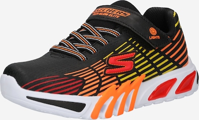 SKECHERS Sneaker 'FLEX-GLOW ELITE' in gelb / orange / rot / schwarz, Produktansicht