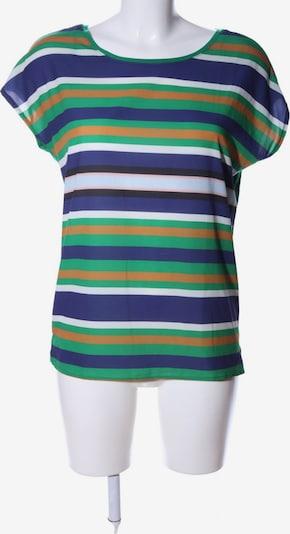 WE Fashion Ringelshirt in S in grün / hellorange / weiß, Produktansicht
