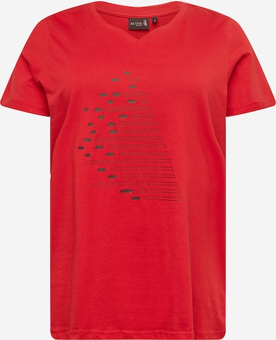 Active by Zizzi Shirt in rot, Produktansicht