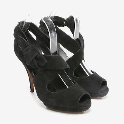 MOSCHINO Sandaletten in 38,5 in schwarz, Produktansicht