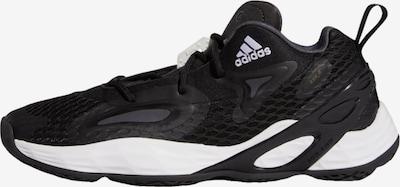 ADIDAS PERFORMANCE Basketballschuh 'Exhibit A' in schwarz / weiß, Produktansicht