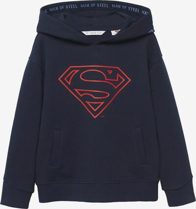 MANGO KIDS Sweatshirt i blå / marinblå / röd, Produktvy