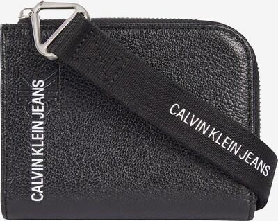 Calvin Klein Jeans Portemonnee in de kleur Zwart / Wit, Productweergave