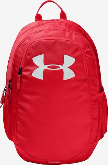 UNDER ARMOUR Sportrucksack in rot / weiß, Produktansicht