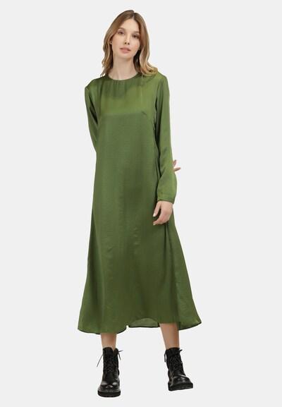 DreiMaster Vintage Kleid in oliv, Modelansicht