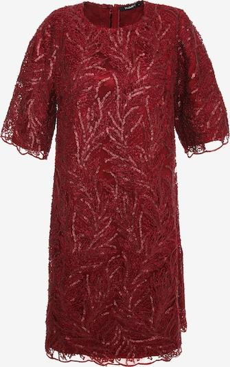Madam-T Jurk 'Milana' in de kleur Rood, Productweergave