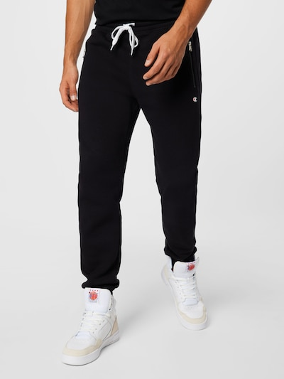 Champion Authentic Athletic Apparel Pants in Black, View model