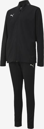 PUMA Trainingsanzug 'Play' in schwarz / weiß, Produktansicht