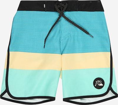 QUIKSILVER Maillot de bain de sport 'Surfsilk Tijuana' en turquoise / jaune clair / menthe / noir, Vue avec produit