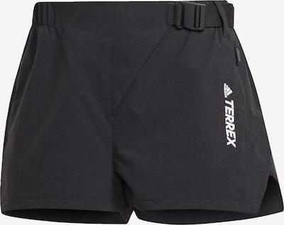 adidas Terrex Shorts in schwarz / weiß, Produktansicht