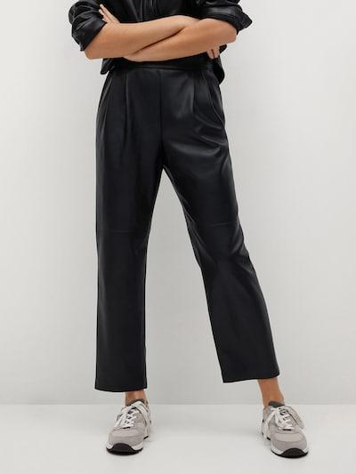 MANGO Hose 'Siena' in schwarz, Modelansicht