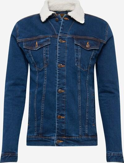 Denim Project Přechodná bunda 'Kash' - krémová / modrá džínovina, Produkt