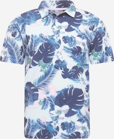 PUMA T-Shirt fonctionnel 'Sabbatical' en bleu marine / bleu pastel / rose pastel, Vue avec produit