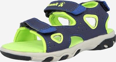 Kamik Sandalen 'LOBSTER 2' in de kleur Hemelsblauw / Donkerblauw / Kiwi, Productweergave