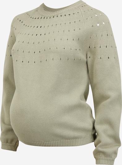 Pieces Maternity Pullover 'PERNILLA' in khaki, Produktansicht