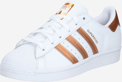 ADIDAS ORIGINALS Sneaker 'SUPERSTAR' in gold / weiß, Produktansicht