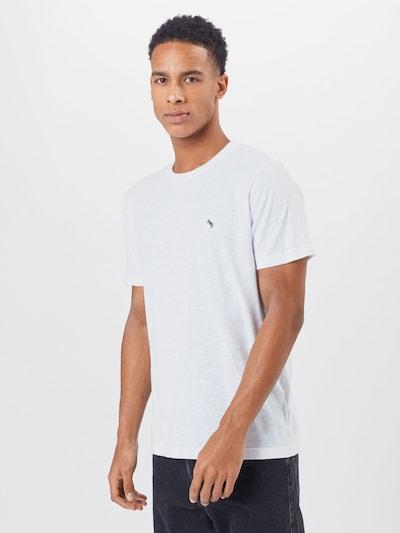 Abercrombie & Fitch Koszulka w kolorze granatowy / białym: Widok z przodu