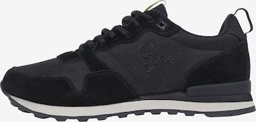 Scalpers Sneaker in Schwarz