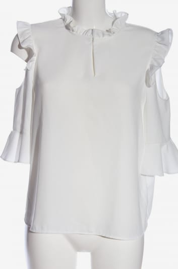 ONE MORE STORY Rüschen-Bluse in M in weiß, Produktansicht