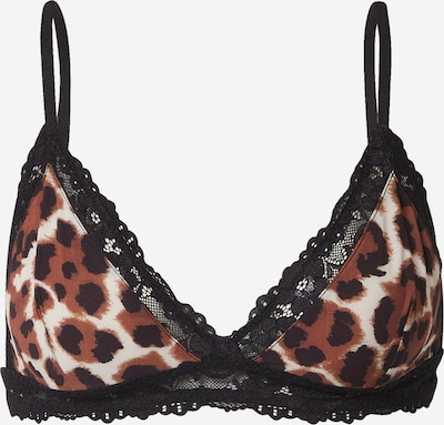Samsoe Samsoe Bra in Beige / Brown / Black, Item view