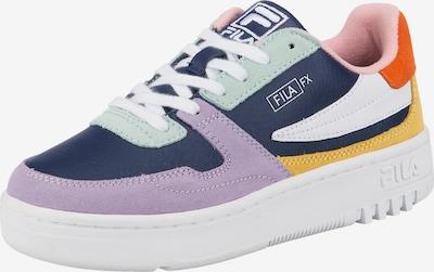 FILA Baskets basses 'Ventuno' en bleu marine / menthe / violet clair / rouge orangé / blanc, Vue avec produit