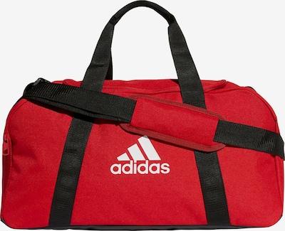 ADIDAS PERFORMANCE Fußballtasche in rot / schwarz / weiß, Produktansicht