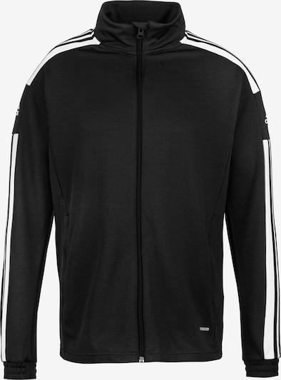 ADIDAS PERFORMANCE Sportjacke 'Squadra 21' in schwarz / weiß, Produktansicht