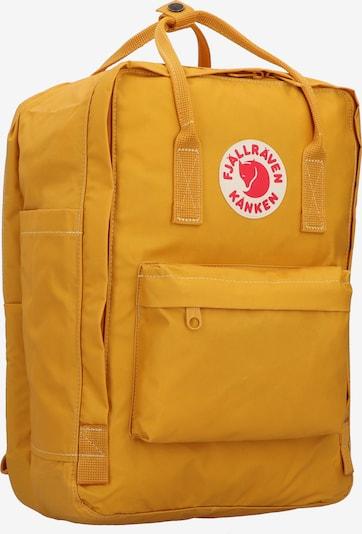 Fjällräven Rucksack 'Kanken' in curry / feuerrot / weiß, Produktansicht