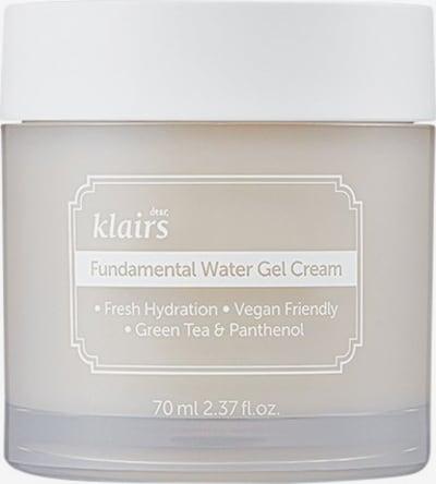 Klairs Creme 'Fundamental Water Gel' in transparent, Produktansicht