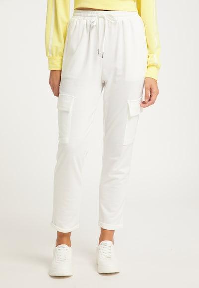 usha BLUE LABEL Hose in weiß, Modelansicht