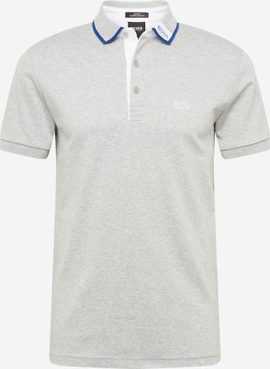 BOSS ATHLEISURE Shirt 'Paule' in blau / hellgrau / weiß, Produktansicht