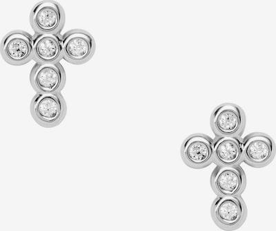 FOSSIL Ohrringe mit Zirkonia in silber, Produktansicht