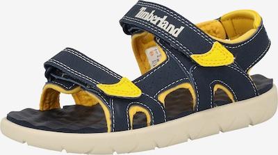 TIMBERLAND Sandale in enzian / gelb, Produktansicht