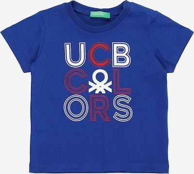 UNITED COLORS OF BENETTON Tričko - kráľovská modrá / červená / biela, Produkt