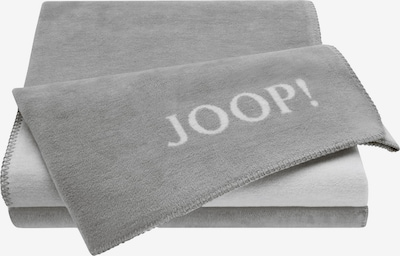 JOOP! Decken in dunkelgrau / naturweiß, Produktansicht