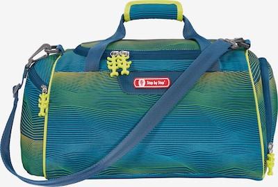 STEP BY STEP Sporttasche in blau / neongelb / grün, Produktansicht