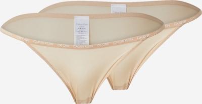 Calvin Klein Underwear String in nude, Produktansicht
