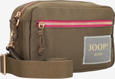 JOOP! Jeans Sac à bandoulière 'Colori Nell' en kaki / rose, Vue avec produit