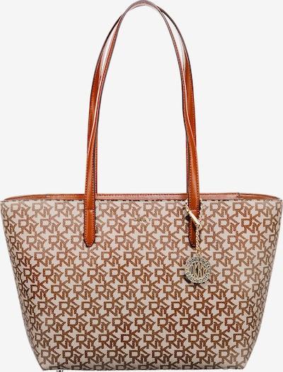Pirkinių krepšys 'Bryant' iš DKNY, spalva – glaisto spalva / karamelės / tamsiai ruda, Prekių apžvalga