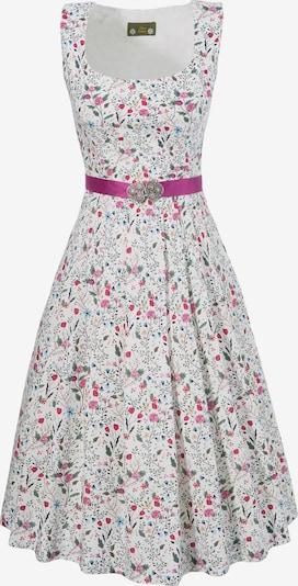LOVE NATURE Trachtenkleid in pink / weiß, Produktansicht