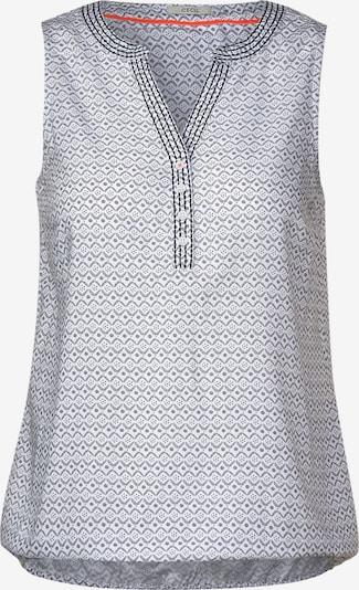 CECIL Blusentop in grau / schwarz / weiß, Produktansicht