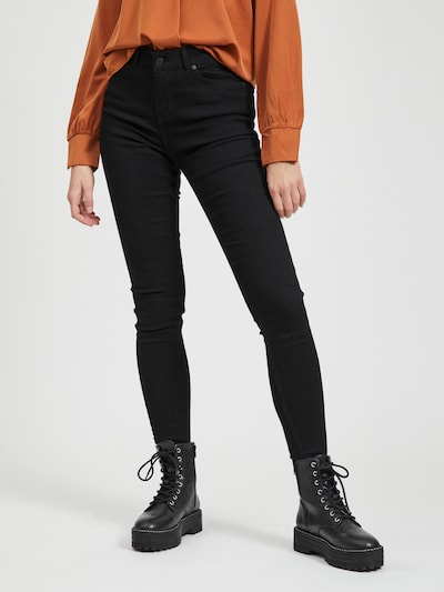OBJECT Jeans 'SOPHIE OBB284' in de kleur Black denim, Modelweergave