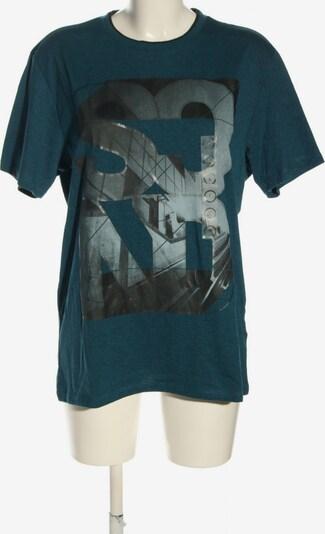 Angelo Litrico Print-Shirt in L in blau / hellgrau / schwarz, Produktansicht