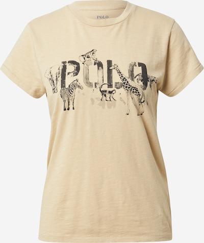 POLO RALPH LAUREN T-shirt en sable / gris foncé, Vue avec produit