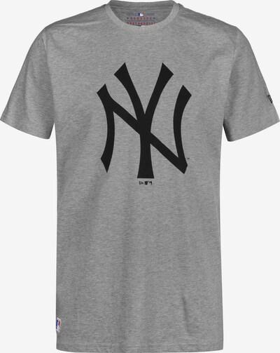 NEW ERA T-Shirt ' MLB Team Logo NY Yankees ' en gris / noir, Vue avec produit